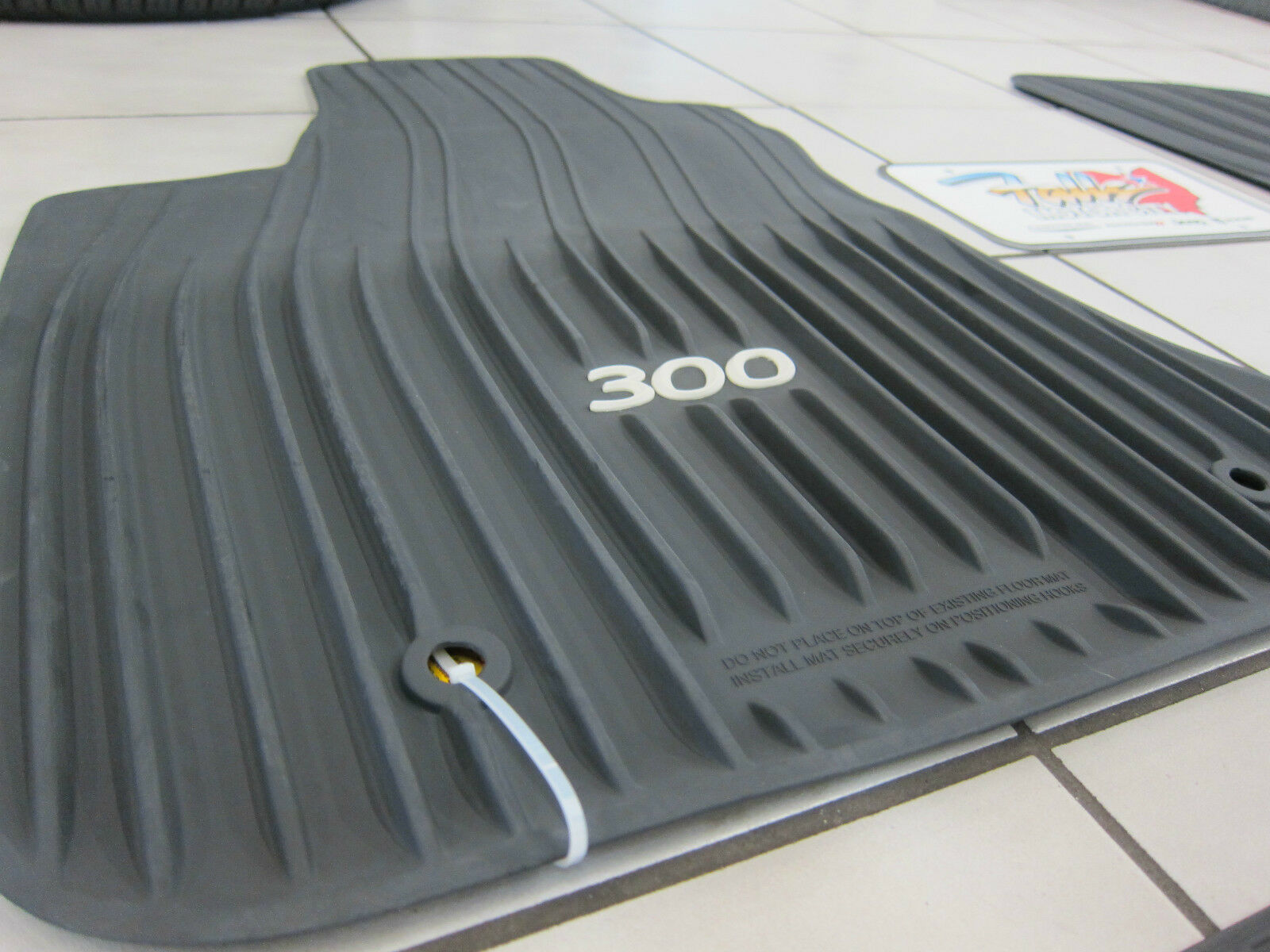 2011 2019 Chrysler 300 Awd All Weather Rubber Slush Mats