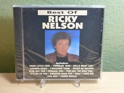 Best of Ricky Nelson [Curb] by Rick Nelson (CD, Jul-1991, Curb) New