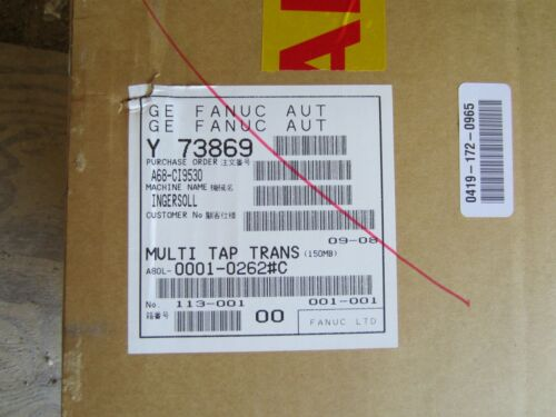 New ABB A80L-0001-0262#C Multi Tap Transformer FACTORY SEALED