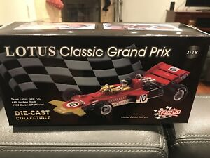 1/18 DIECAST QUARTZO F1 LOTUS TEAM TYPE 72C #10 J.RINDT WINNER**