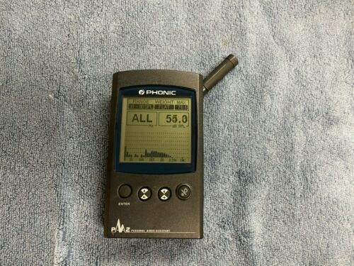 VERY CLEAN Phonic PAA2 Portable Audio Analyzer and Measurement Tool