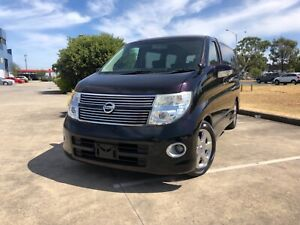 2008 Nissan Elgrand ME51 HighWay Star 8 Seater Wagon Thomastown Whittlesea Area Preview