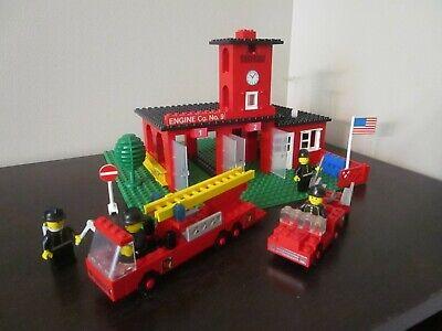 Vintage (1978) LEGO Town Classic set 590-1 Engine Company No. 9 - VERY RARE