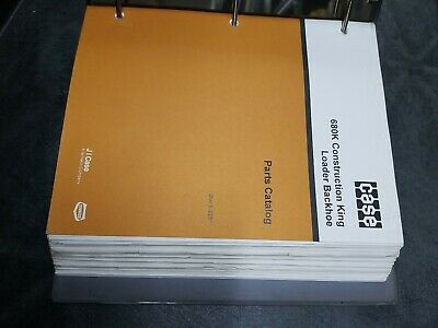 Case 680k Construction King Loader Backhoe Parts Catalog