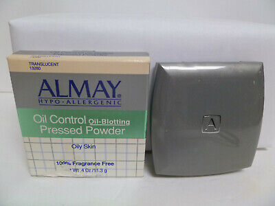 ALMAY OIL CONTROL PRESSED POWDER FOR OILY SKIN, TRANSLUCENT -