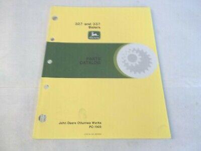 John Deere 327 337 Balers Parts Catalog