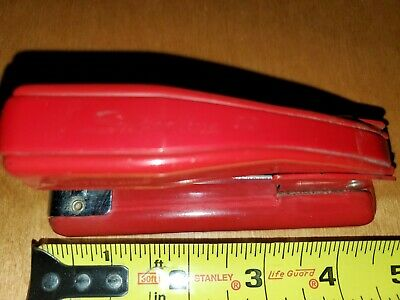 Vintage Swingline 99 Red Metal Stapler