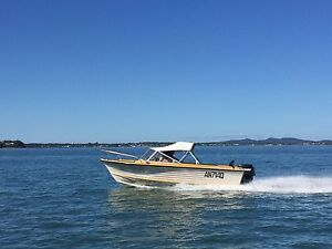 EasyRider 166 Runabout Boat 135HP Evinrude Carina Brisbane South East Preview