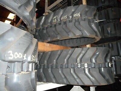 New 300x52.5nx84 Rubber Track Airman Bobcat Cat Hitachi Komatsu Kubota More