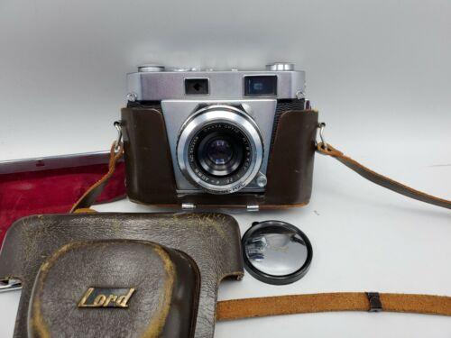 Vintage Okaya Lord 4D 35mm Film Rangefinder Camera w/ Case - F2.8 40mm Lens