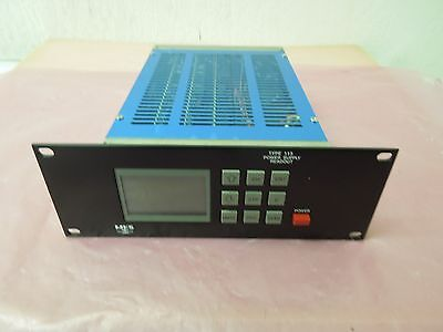 MKS 113B-2-P Pwr Supply Digital Read Unit for Pressure Sensor & Mass Flow Meter