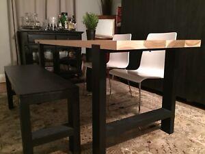 Custom poplar harvest table