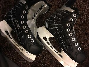 Ice skates Bauer challenger skates Y13R Kitchener / Waterloo Kitchener Area image 1