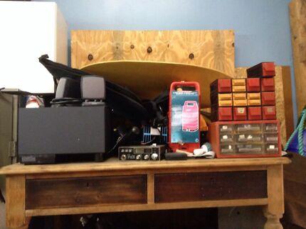Various items for sale, 1920's antique desk, UHF radio Orange Orange Area Preview