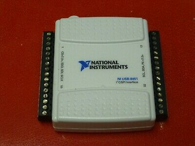 National Instruments Ni Usb-8451 Icspi Interface Device