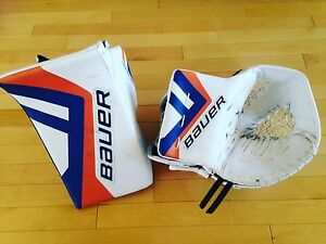 Mitaine et blocker Bauer 1S