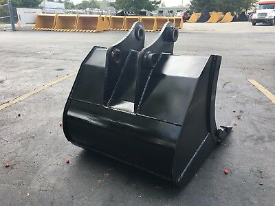 New 36 Heavy Duty Excavator Bucket For A Kobelco Sk75 W Coupler Pins