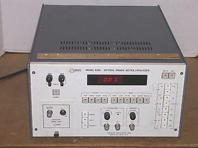 Bnc Berkeley Nucleonics 6100 Optical Power Meteranalyzer 6185 Detector Plug-in