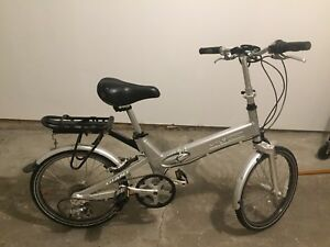 Giant Halfway Folding bicycle (silver)