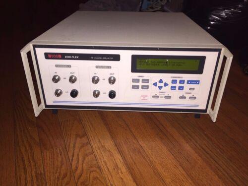 SPIRENT /TAS 4500 FLEX RF CHANNEL EMULATOR TESTED