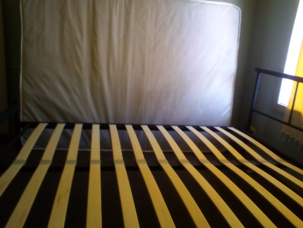 Tokyo double bed frame. Fantastic furniture Tokyo double bed with mattress   never used