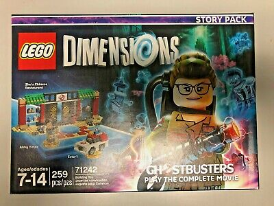 LEGO 2016 GHOSTBUSTERS  DIMENSIONS ZHU'S CHINESE RESTAURANT 259 PCS  71242  L@@K