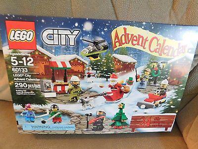 LEGO CITY 2016 Advent Calendar 290 pieces #60133 NEW