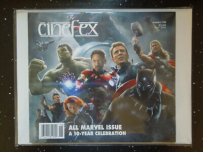 Cinefex 158 - All Marvel Issue A 10-Year Celebration - $6.99