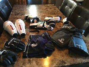 Hockey Equipment for 4-6 yr old