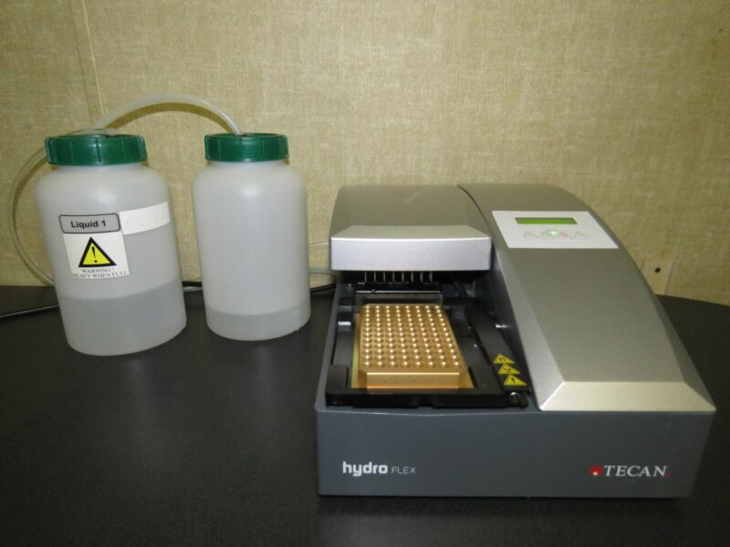 Tecan Hydro Flex Wash Station 96 Well Microplate Washer - VIDEO