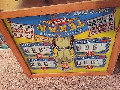 "Gottlieb ""Texan"" Pinball Machine"
