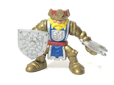 Fisher Price Great Adventures CASTLE GOLD KNIGHT King 1999
