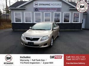 2009 Toyota Corolla CE LOW KMS! CLEAN! UNDERCOATED!