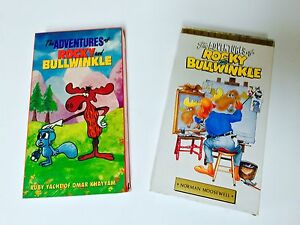 ROCKY AND BULLWINKLE VHS CASSETTES X2! London Ontario image 1