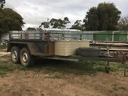 8x5 Heavy duty Tandem Trailer Maryborough Central Goldfields Preview
