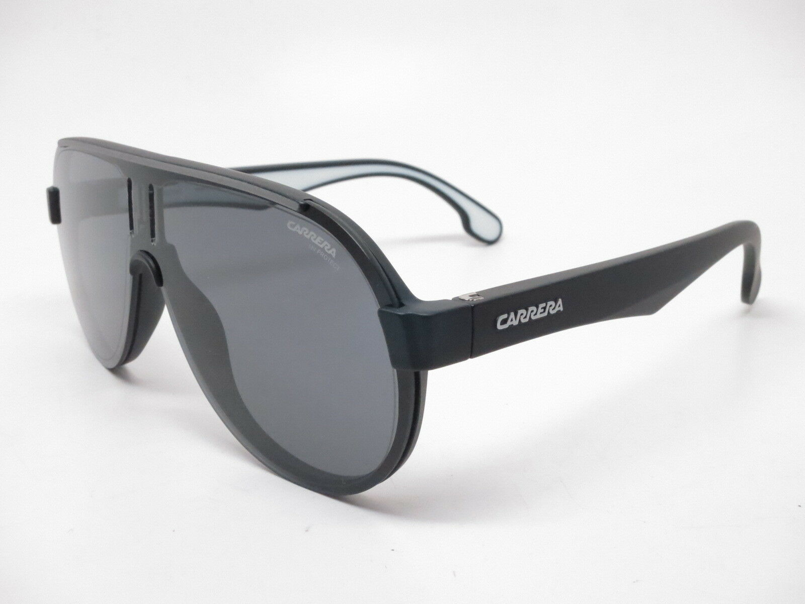 New Authentic Carrera 1008 S 003IR Matte Black with Grey Blue lens  Sunglasses фото a6a27512ad5
