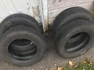 "Michelin X-ICE Winter Tires 15"" Like New"