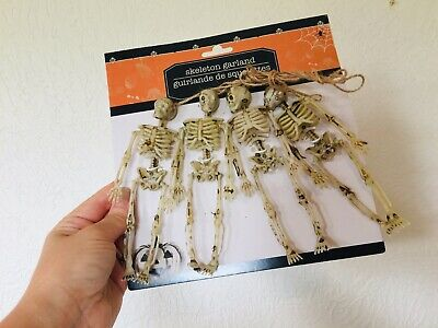 Skeleton Garland Set Halloween Scary Spooky Prop Party Décor Decoration