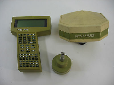Leica Wild Gps System 200 Wild Sr299 Wild Cr233 For Surveying