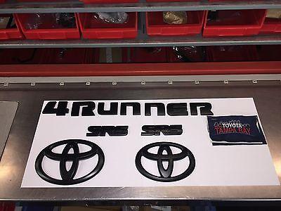 00016-89016 Genuine OEM Toyota 2010-2016 4Runner Black Out Overlay Kit