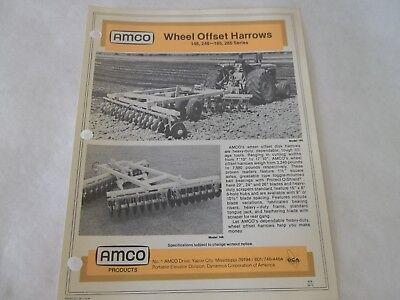 Amco Wheel Offset Harrows