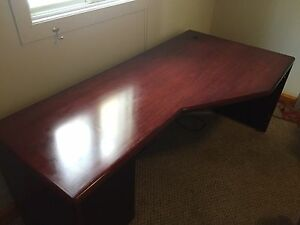 Sold wood made in Canada office desk