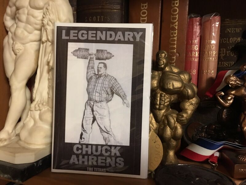 Bodybuilding Powerlifting Chuck Ahrens Rare New Booklet 2020
