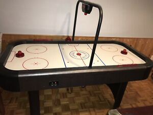 12 FEET AIR HOCKEY TABLE WITH ELECTRIC SCORE BOARD