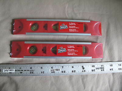 2 New Vermont America 9 Magnetic Torpedo Level Vam011158
