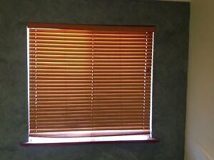 Timber look Venetian blinds Bassendean Bassendean Area Preview