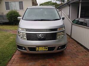 2003 Nissan Elgrand NE51 (4wd) XL (premium) Full leather+++ Ryde Ryde Area Preview