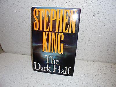 The Dark Half By Stephen King 1989 Hardback Hardbound Book   Has Price Inside
