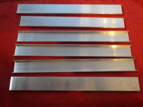 """1.2"""" X .33"""" ALUMINUM CHANNEL 12"""" IN LENGTH"""