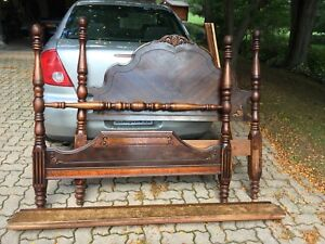 Antique 4 poster double bed